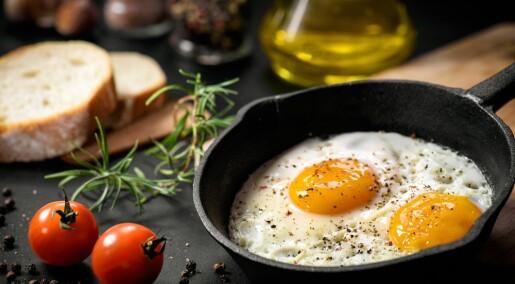 Ett egg om dagen øker ikke risikoen for hjertesykdom