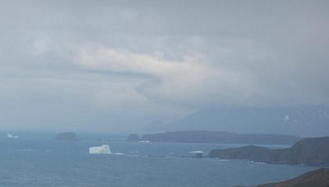Når isen trekker seg tilbake for sommeren i arktis, åpner det seg nye muligheter. Jostein Bakke/UiB