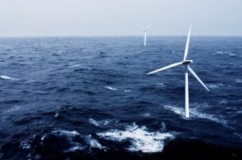 – Vi lager de matematiske beregningene for hvordan vindmølleparker skal designes slik at mest mulig av vinden blir fanget og utnyttet, sier Lars Sætran, professor ved NTNU. (Foto: Paul Sigve Amundsen; Montasje: Tone Kvenild/NTNU Info)
