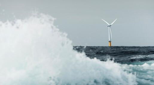 Havvindindustrien brukar for enkle vindmodellar