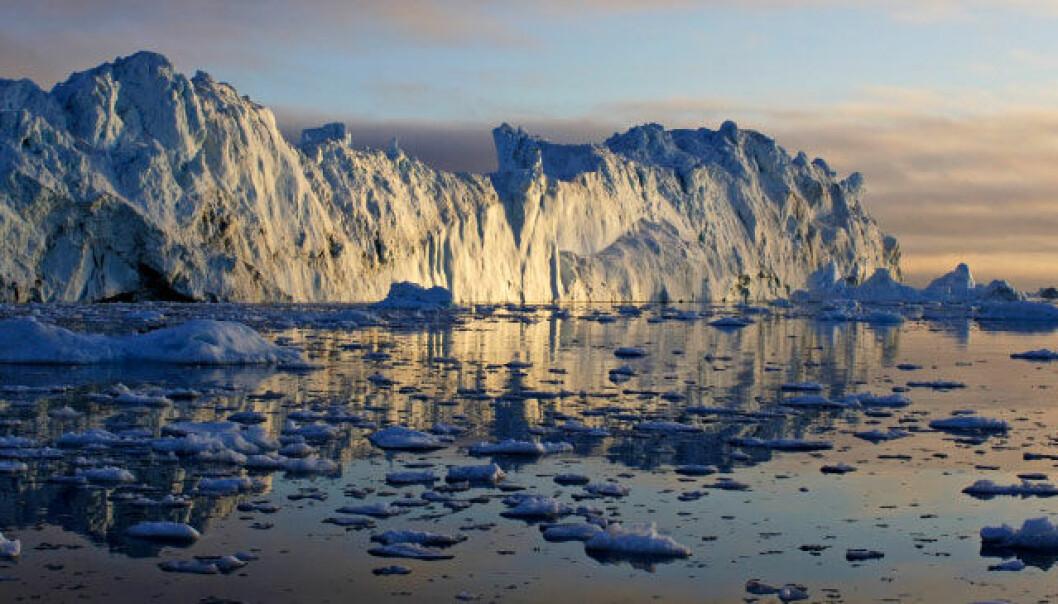 De siste tiårene har isen på Grønland krympet foruroligende fort. iStockphoto
