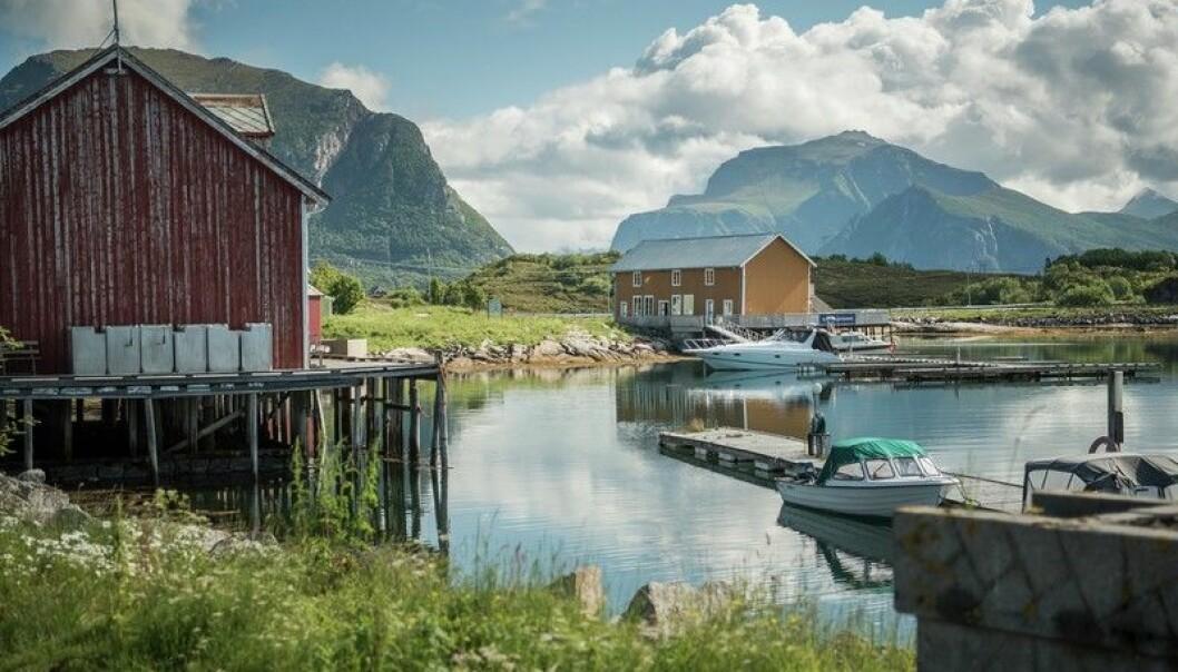 Støtt er bare ett av mange vakre steder i Meløy kommune på Helgeland.