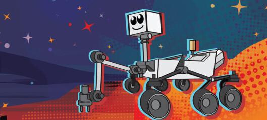 Hva skal Mars-roboten hete?
