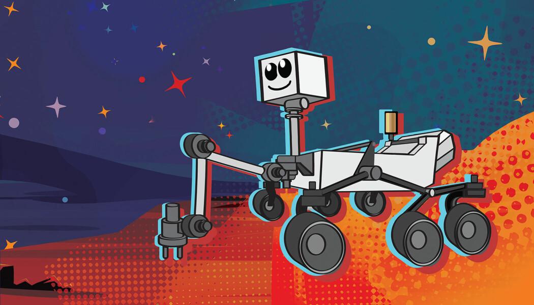 Roboten som snart skal sendes til Mars har fortsatt ikke noe navn.