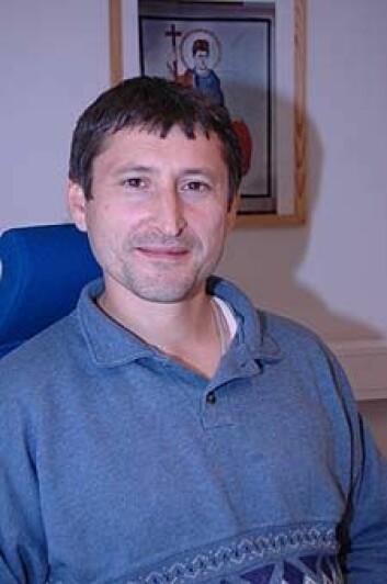 """""""Ved å kombinere ulikt datamateriale ønsker Ildar Garipzanov å belyse nye sider ved kristningen av Nord-Europa. (Foto: Kristian Bråthen)"""""""