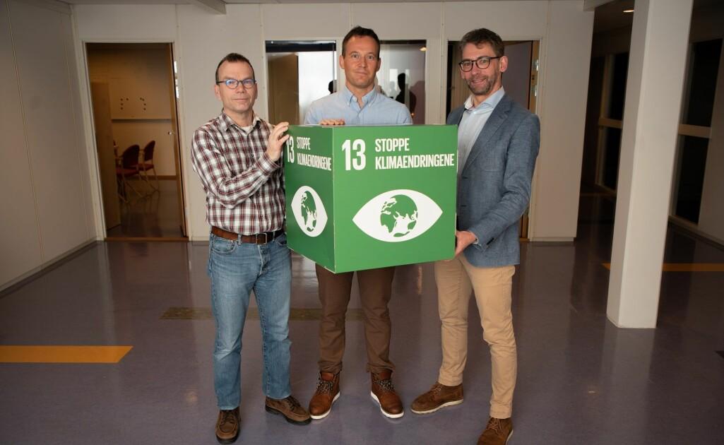 Odd Erik Garcia, Martin Rypdal og Nigel Gilles Yoccoz er ledere for UiTs nye satsningssenter, DYNAMO.
