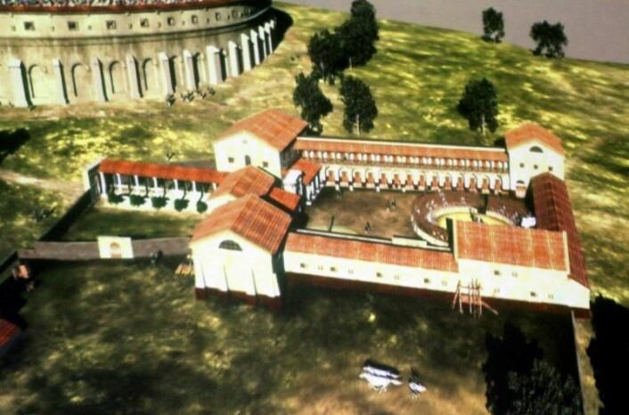 Et stort treningsanlegg for romerske gladiatorer, det første av sitt slag i Nord-Europa, skal graves frem i Østerrike. (Foto: (AP Photo/Ronald Zak))