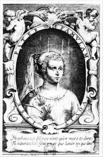 Marie de Gournay skrev om kjønnslikestilling allerede i 1641. (Foto: (Illustrasjon: Wikimedia Commons))
