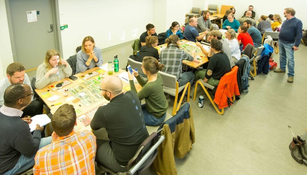 Spillet kan også brukes i undervisning i Norge.