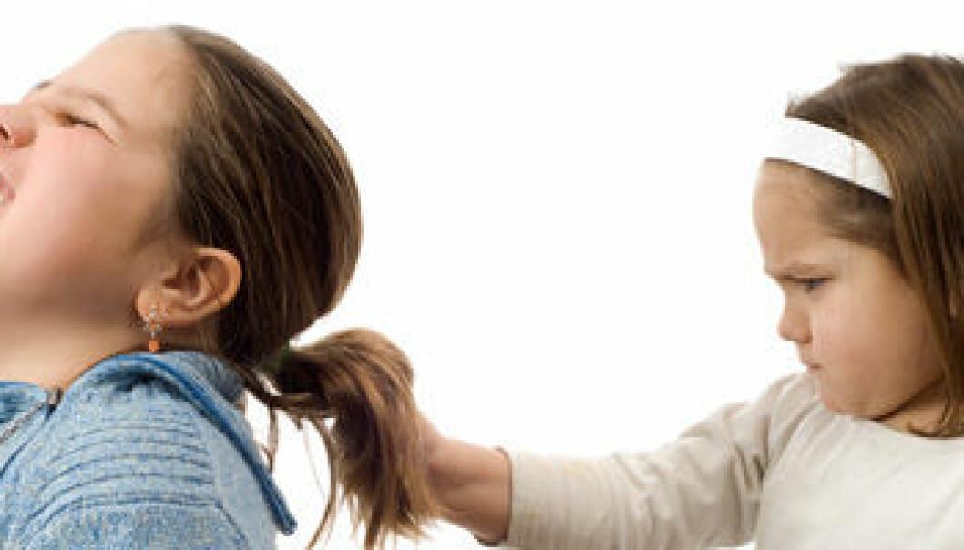 Norske forskere studerer utviklingen av tidlig fysisk aggresjon. Shutterstock