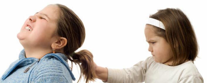 Norske forskere studerer utviklingen av tidlig fysisk aggresjon. (Foto: Shutterstock)