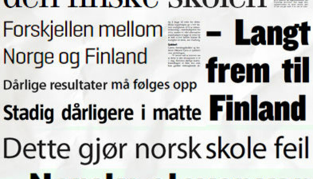 (Faksimiler fra norske dagsaviser)