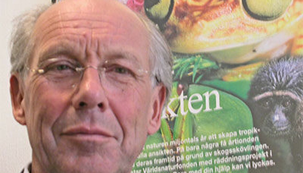 Jørgen Randers. (Foto: Are Wormnes)