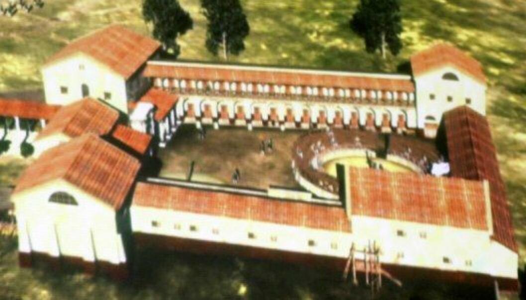 Enorm romersk gladiatorskole funnet i Østerrike
