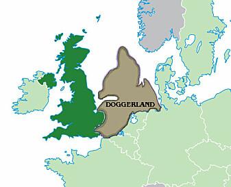 Sånn så Doggerland kanskje ut 10,000 f.Kr.
