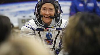 Rekord-astronaut tilbake på jorden