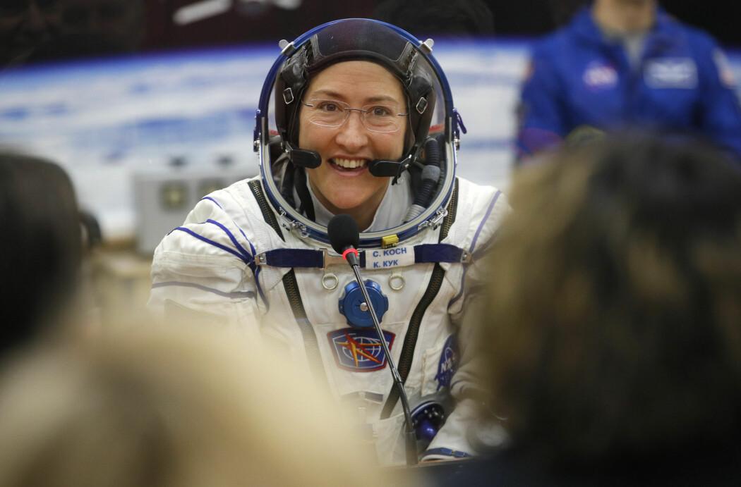 NASA-astronaut Christina Koch har skrevet historie flere ganger på sin 328 dager lange ferd rundt jordkloden.