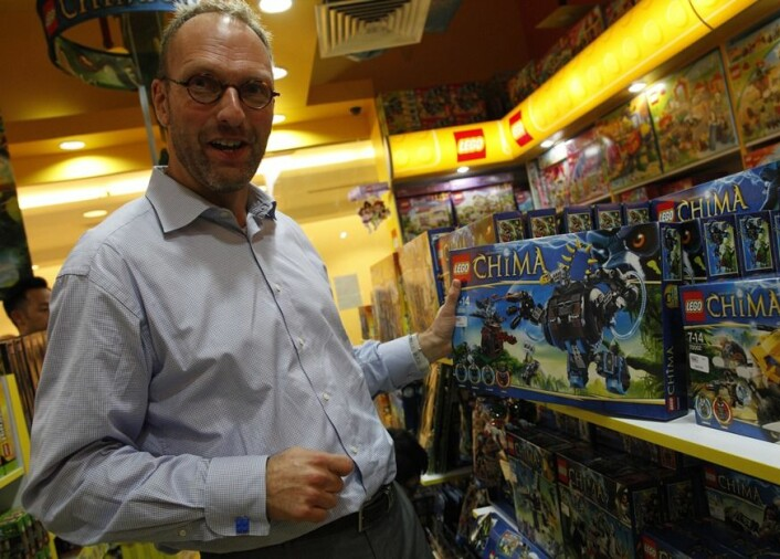 Lego er et av de beste eksemplene på at organisasjoner har sin egen tid, sier professor Tor Hernes og viser til selskapets toppsjef Jørgen Vig Knudstorp, som tok over konsernvet i 2005. (Foto: Reuters/Scanpix)