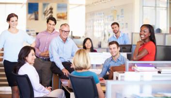 Dette er ikke realiteten i et kontorlandskap, ifølge Harvard-forskere. Åpent landskap gjør heller at folk sender en epost istedenfor å snakke sammen.