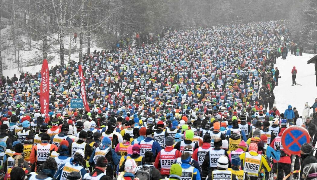 Deltakerne som gjennomfører det 90 kilometer lange skiløpet, har mindre sjanse for å utvikle høyt blodtrykk.