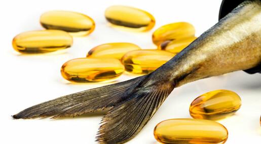 Flere folk og færre fisk gir mangel på omega-3 i verden