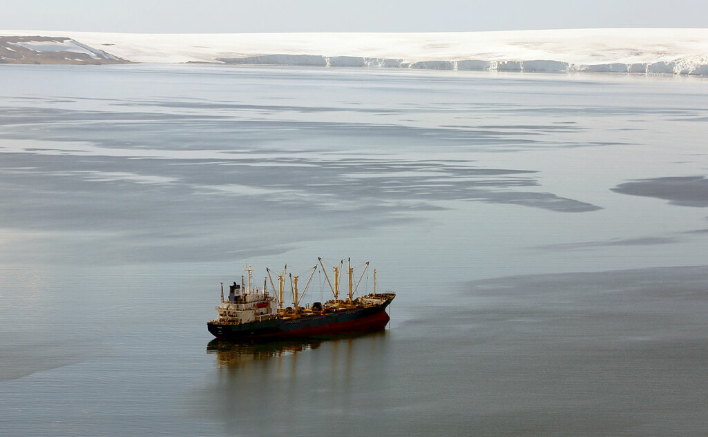 Et av forskernes forslag for å øke tilgangen på omega-3 er å ta i bruk nye primærkilder til omega-3- fettsyrer, som å fiske krill. Bildet viser krillfiske ved Half Moon Bay i Antarktis.