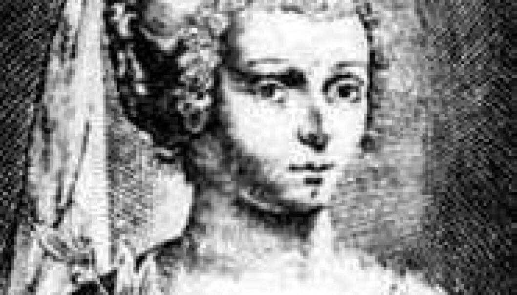 Marie de Gournay skrev om kjønnslikestilling allerede i 1641. (Illustrasjon: Wikimedia Commons)