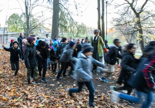 Children thrive in green neighbourhoods