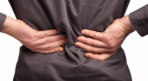 Forebygger ryggsmerter med brosjyre