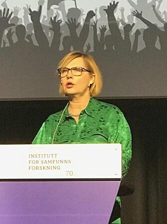 Mari Teigen finner at oppslutningen om likestilling har økt.