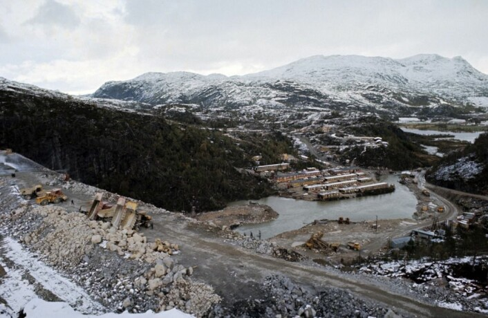Det store vannkraftverket Sira-Kvina sørger for penger i Sirdals kommunekasse. Ifølge den nye studien, er det i kommuner som Sirdal at flest stemmer ved kommunevalg. (Foto: Terje Gustavsen / Aftenposten)