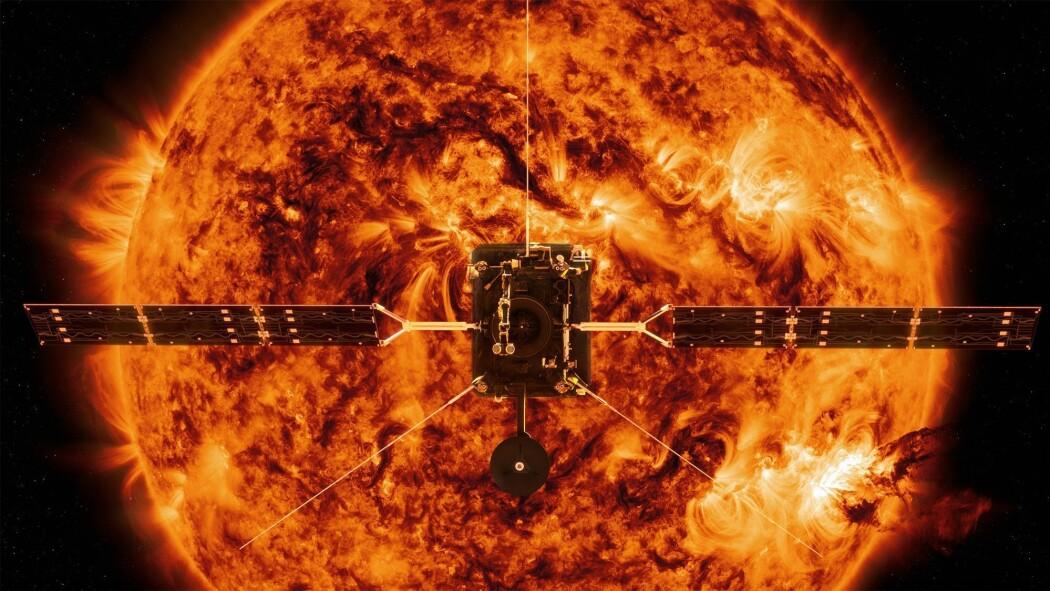 Sonden Solar Orbiter skal hente inn hittil ukjent innsikt om sola, håper ESA og NASA. Her skinner den over Oslo sentrum.