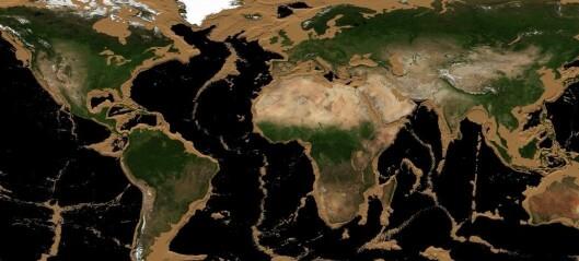 Slik hadde verden sett ut hvis havene krympet