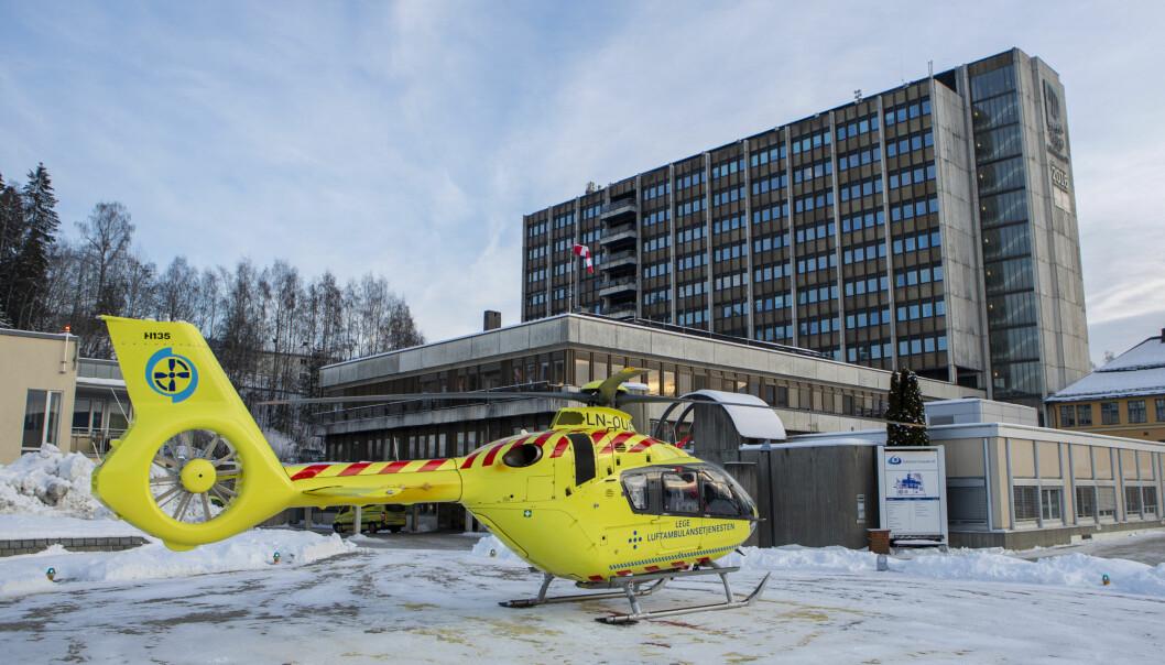 Ved oppnevning av nye styrer er styresammensetningen tilpasset det enkelte helseforetak. Her fra Sykehuset Innlandet på Lillehammer.