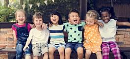 Barn bryr seg ikke om etniske og kulturelle forskjeller
