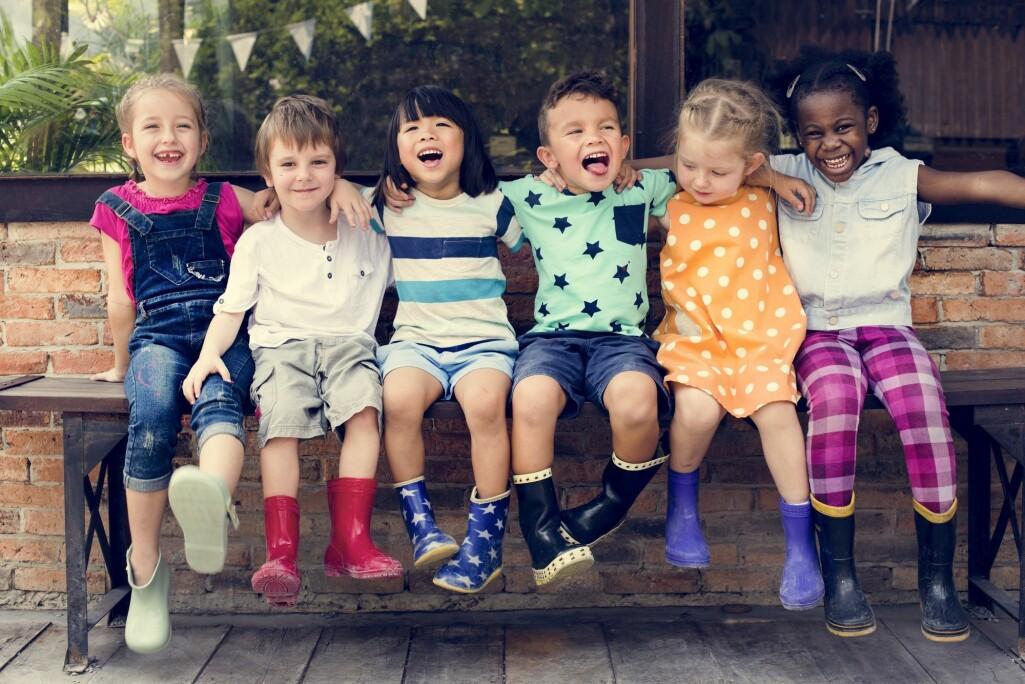 – De fleste barn er rause med hverandre, sier professor Thomas Moser.