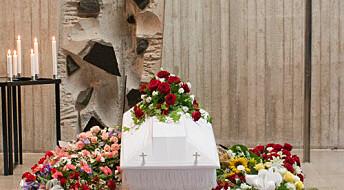 Påskebudskapet sentralt i begravelser