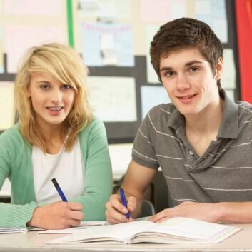 Både gutter og jenter påvirkes av klassens kjønnssammensetning. (Foto: (Illustrasjonsbilde: Colourbox))