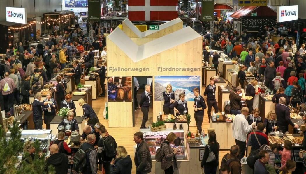 Sogn var ein av dei tre norske regionane som vart profilerte på Grüne Woche i 2020.