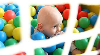 – La ikke barnet ditt leke på et lekeland uten tilsyn, råder brannforsker
