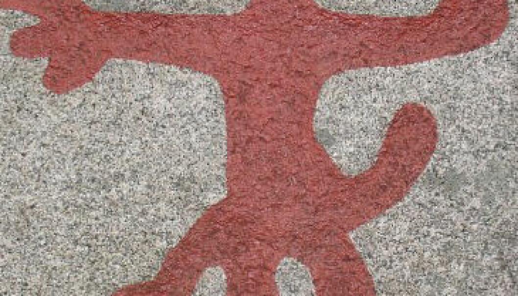 Steinaldermenn tatoverte sine edle delar