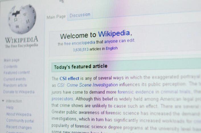En vitenskapelig undersøkelse viser at Wikipedia er ofte mer presis enn lærebøkene. (Foto: Colourbox)