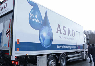 This hydrogen lorry is powered by sunshine – from the north