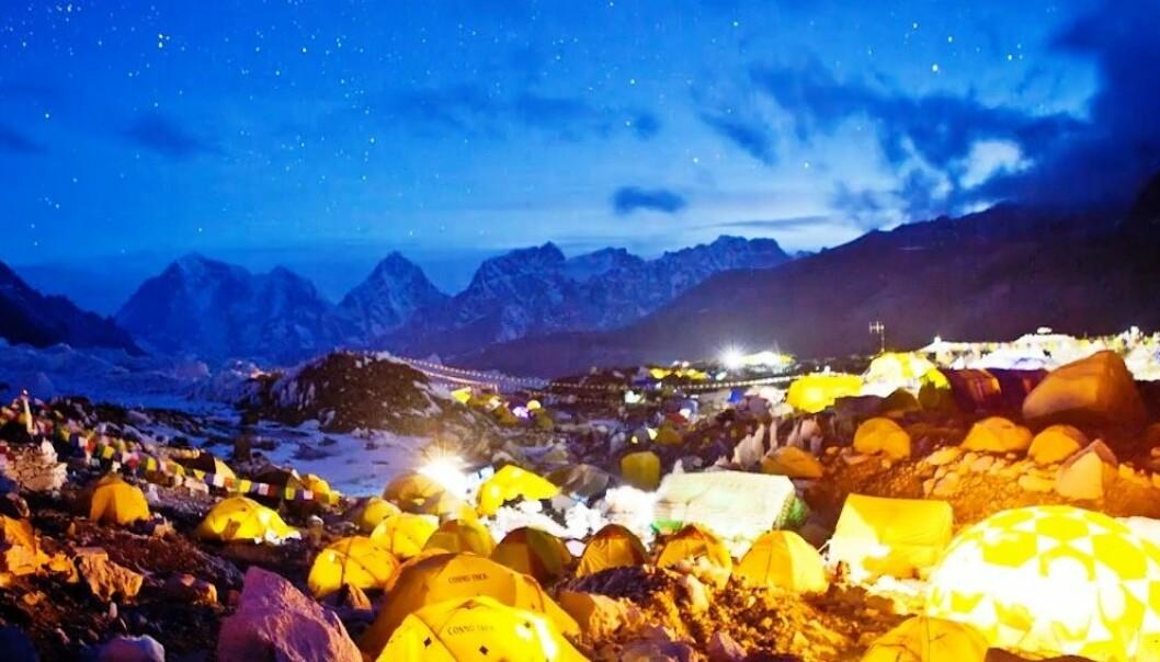 Mount Everest - vakker og vill