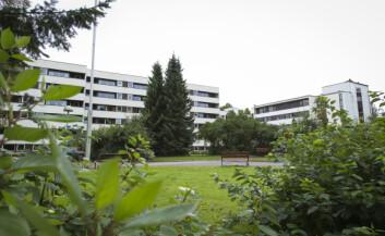 Dønski Bo og behandlingssenter ligger i Bærum kommune. Kommunen er først i løypa med å teste ut velferdsteknologi. (Foto: Werner Juvik, Sintef)