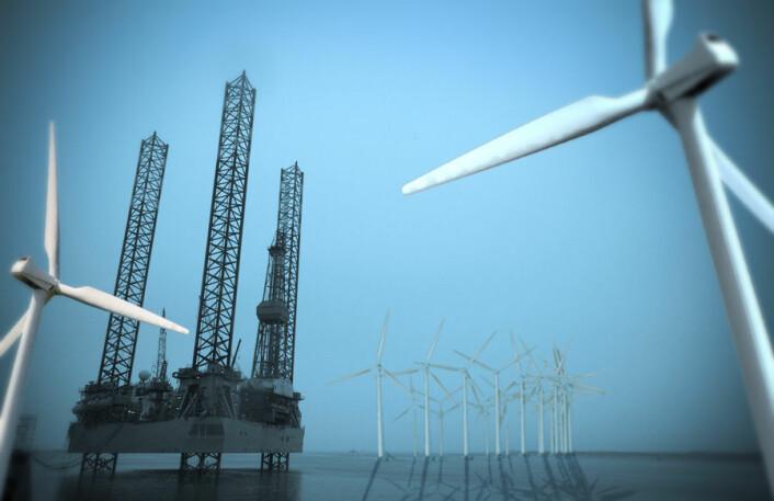 Det er mulig å dekke jordas behov for ren energi med vindkraft, og det med god margin, mener forskere bak en ny studie. (Illustrasjon: Per Byhring)