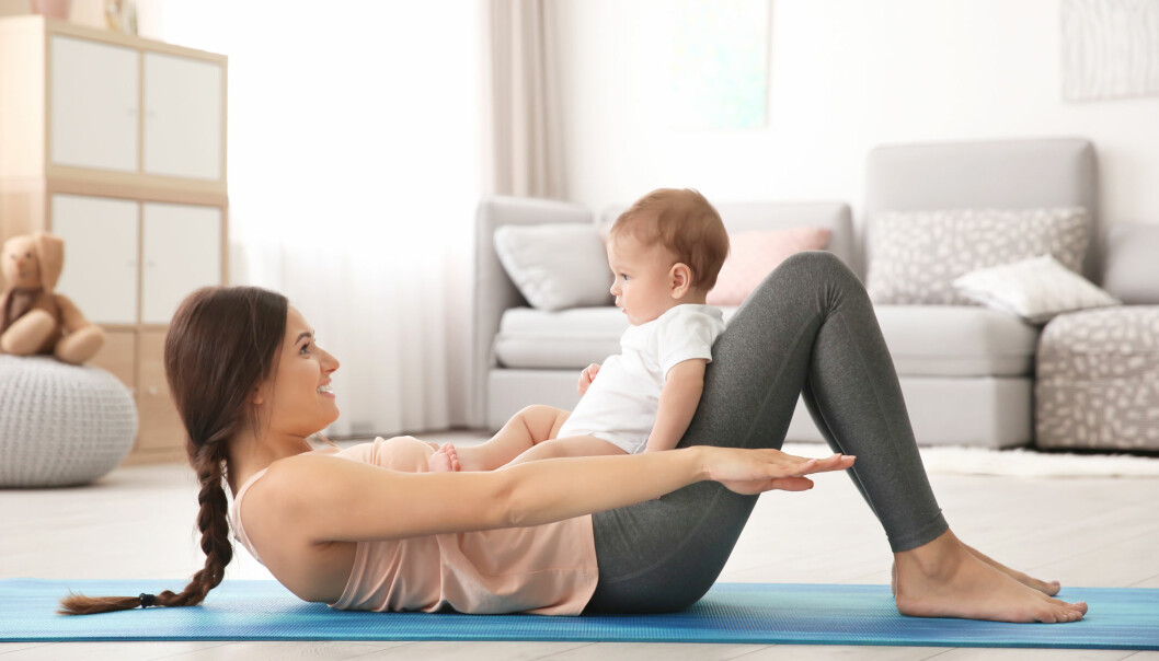 I en ny episode fra NIH-podden er tema mammamager og trening.