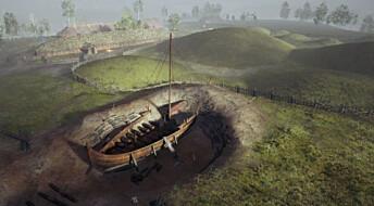 Vikingskipet på Gjellestad lever på nett