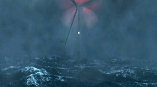 Laser i høy sjø