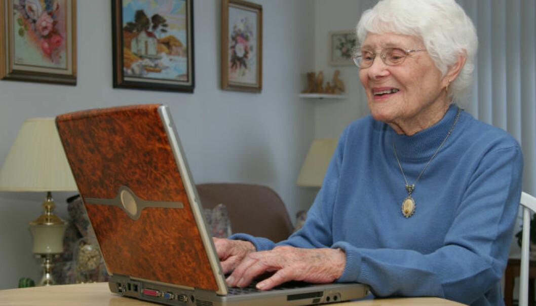 Sosiale medier bra for eldre hjerner